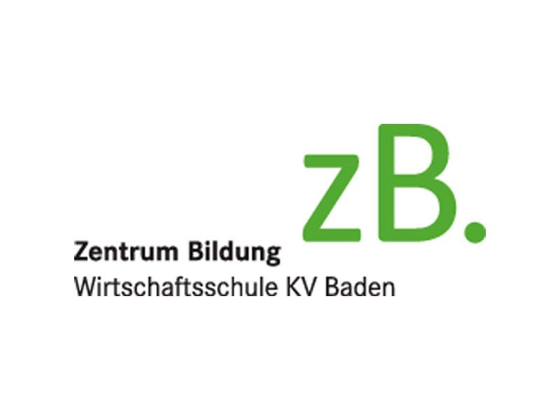 zB. Zentrum Bildung – Wirtschaftsschule KV Baden